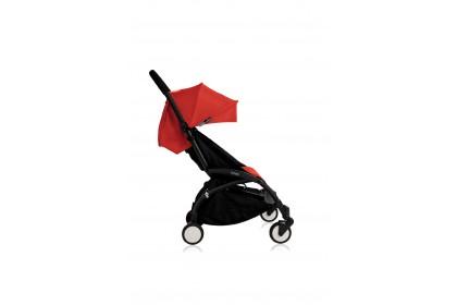 Babyzen Yoyo+ 6+ Baby Stroller - Black Frame (Red)