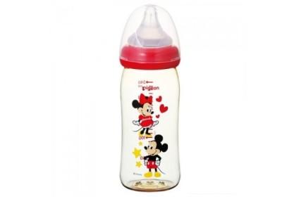 Pigeon Softouch PPSU Disney Mickey Bottle 240ml
