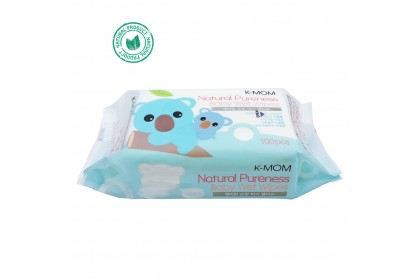 K MOM Natural Pureness Basic Wet Wipes (100 sheets) Basic
