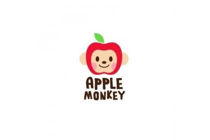 Apple Monkey Organic Rice Cracker - Pumpkin (30g) (Expiry Date: 07/03/2022)