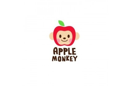 Apple Monkey Organic Rice Cracker-Blueberry Strawberry (30g)