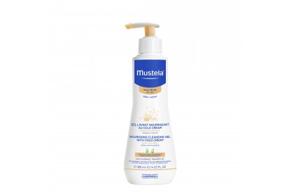 Mustela Nourishing Cleansing Gel with Cold Cream 300ml (Expiry Date: 03/2022)