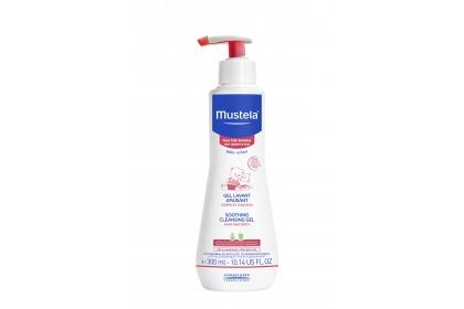 Mustela Soothing Cleansing Gel 300ml (Expiry Date: 04/2022)