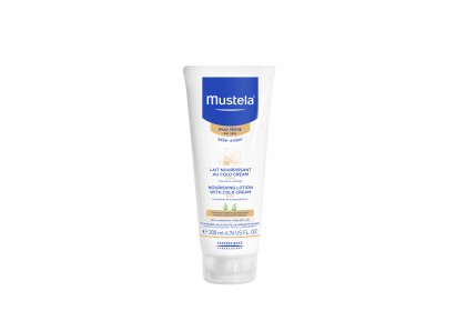 Mustela Nourishing Lotion with Cold Cream 200ml (Expiry Date: 05/2021)