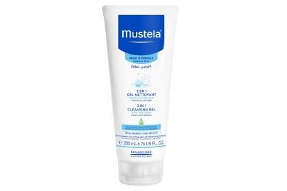 Mustela 2 IN 1 Cleansing Gel 200ml (Expiry Date: 01/2021)
